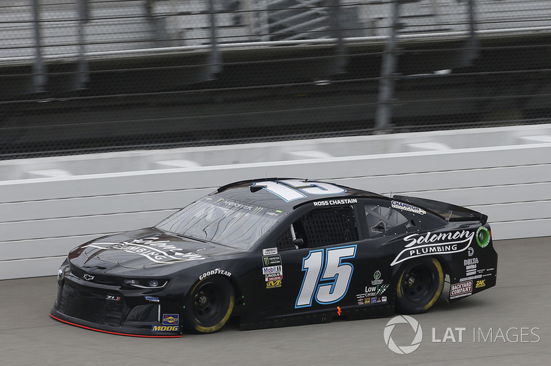 35. Ross Chastain, Premium Motorsports, Chevrolet Camaro Solomon Plumbing