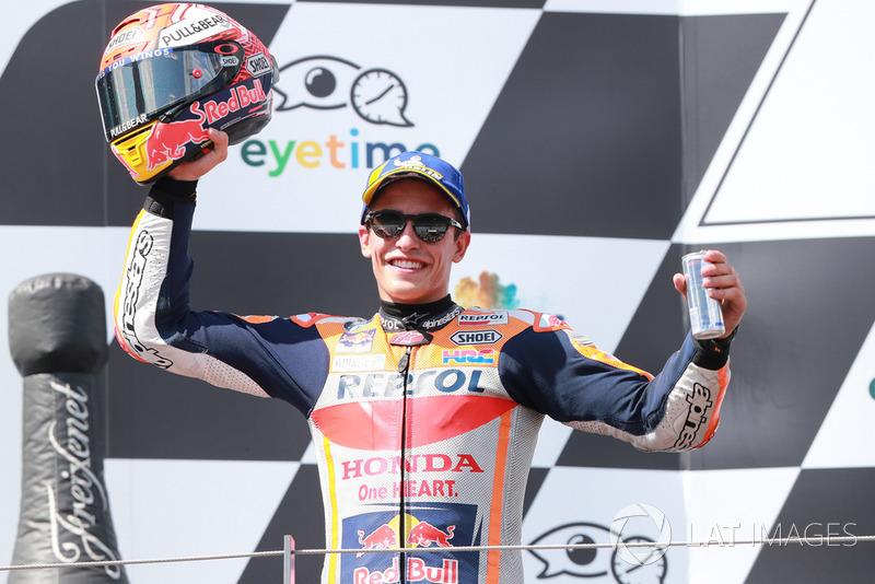 Il secondo classificato Marc Marquez, Repsol Honda Team