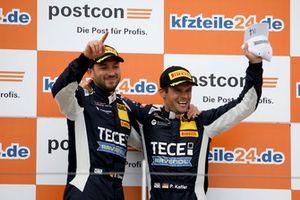 Podium: Winner #11 EFP by TECE Audi R8 LMS: Elia Erhart, Pierre Kaffer