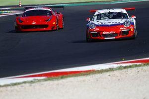#169 Porsche 991-GT3, Ebimotors: Nicolosi-La Mazza