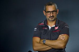 Ben Agathangelou, Haas F1 Aerodynamacist in the Press Conference