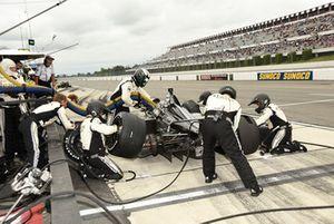 Ed Carpenter, Ed Carpenter Racing Chevrolet pit stop