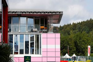 L'hospitalité Force India dans le paddock