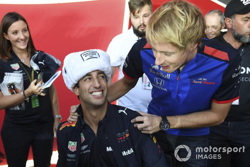 2012 és 2013 között a Toro Rosso versenyzője volt. 2012-ben 10, 2013-ban 20 pontot gyűjtött. A legjobb eredménye két 7. hely volt.