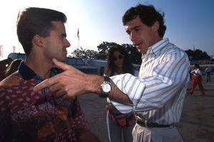 Pedro LamyTeam Lotus and Ayrton Senna, McLaren