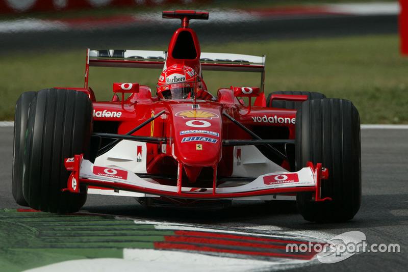 Ferrari F2003-GA - 7 victorias