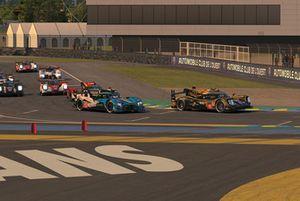 Parrilla de las 24 horas de Le Mans virtuales