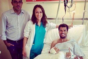 Simone Corsi, Tasca Racing Scuderia Moto2, après son opération