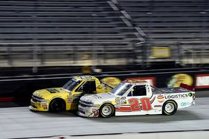 Cody Coughlin, GMS Racing, Chevrolet Silverado JEGS.com, Tanner Thorson, Young's Motorsports, Chevrolet Silverado Ohio Logistics