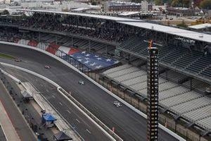 Will Power, Team Penske Chevrolet, Colton Herta, Andretti Harding Steinbrenner Autosport Honda, Alexander Rossi, Andretti Autosport Honda