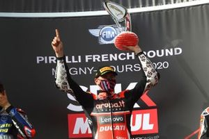 Podium: race winner Scott Redding, Aruba.it Racing Ducati