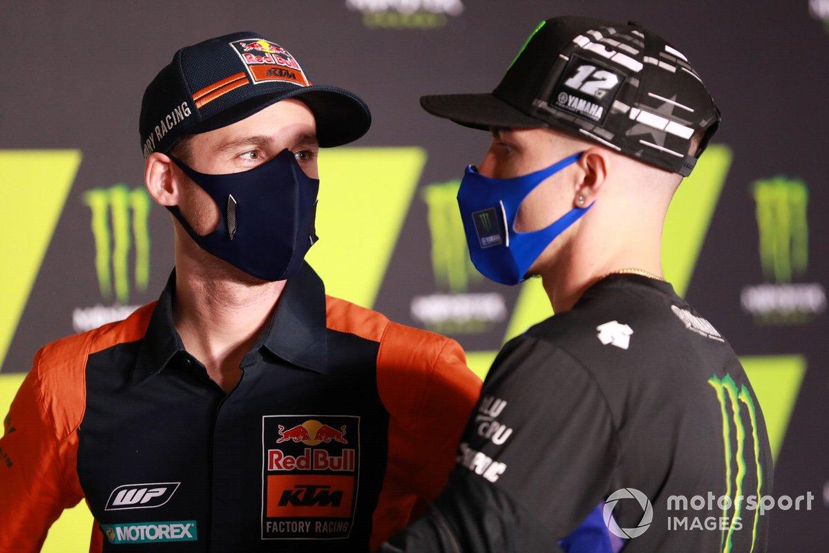 Pol Espargaro, Red Bull KTM Factory Racing Maverick Vinales, Yamaha Factory Racing