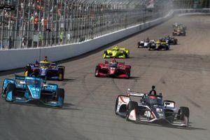 Rinus VeeKay, Ed Carpenter Racing Chevrolet, Conor Daly, Carlin Chevrolet