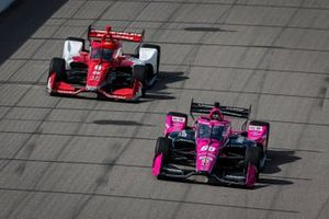 Jack Harvey, Meyer Shank Racing Honda, Marcus Ericsson, Chip Ganassi Racing Honda