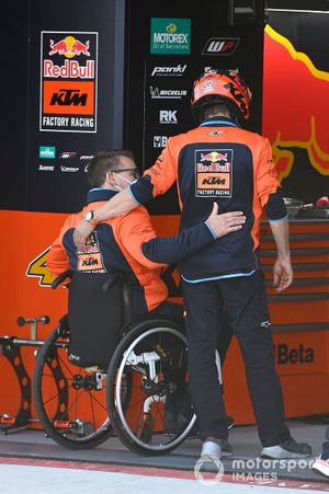 Mike Leitner, Pit Beirer, Red Bull KTM Factory Racing