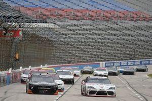 Harrison Burton, Joe Gibbs Racing, Toyota Supra Morton Buildings/DEX Imaging, Jeb Burton, JR Motorsports, Chevrolet Camaro State Water Heaters