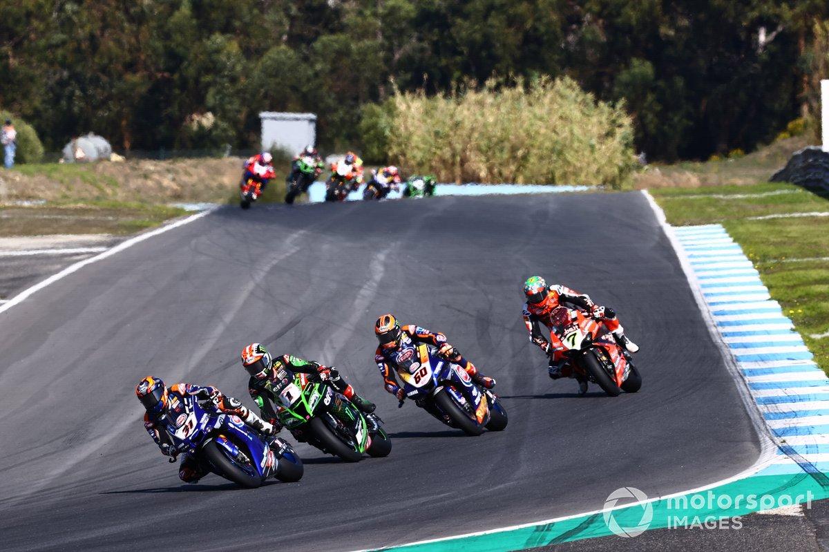 Garrett Gerloff, GRT Yamaha, Jonathan Rea, Kawasaki Racing Team, Michael van Der Mark, Pata Yamaha