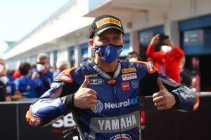 Garrett Gerloff, GRT Yamaha takes third in Superpole