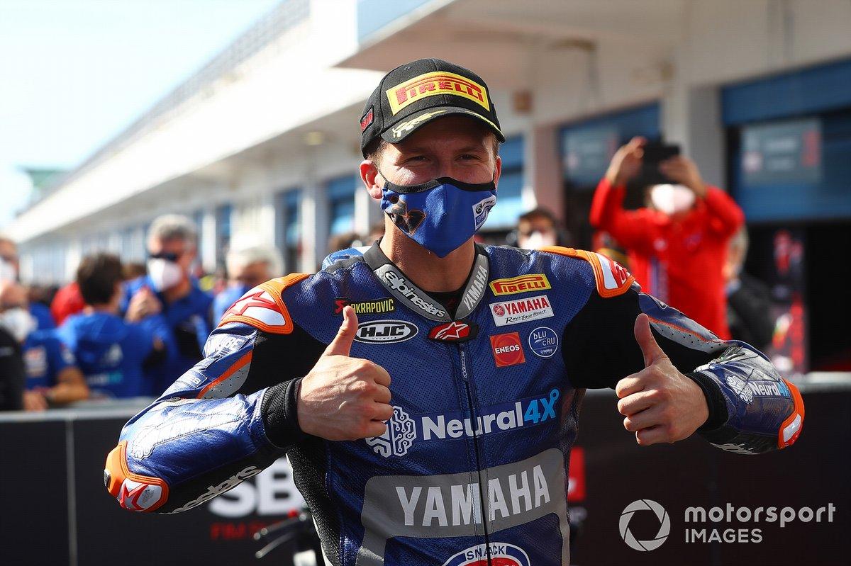 Garrett Gerloff, GRT Yamaha toma el tercer lugar en el Superpole