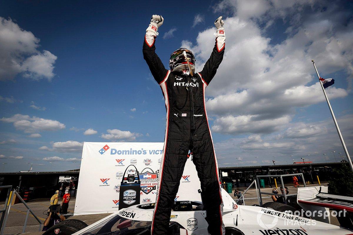 Ganador carrera 2 Josef Newgarden, Team Penske Chevrolet