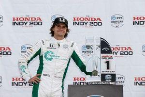 Победитель гонки Колтон Херта, Andretti Harding Steinbrenner Autosport Honda