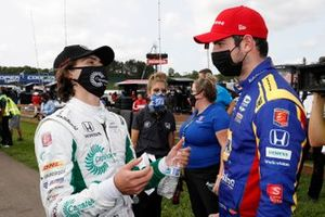 Winner Colton Herta, Andretti Harding Steinbrenner Autosport Honda, Alexander Rossi, Andretti Autosport Honda