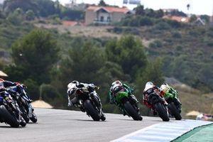 Philipp Oettl, Kawasaki Puccetti Racing, Raffaele De Rosa, MV Agusta Reparto Corse, Lucas Mahias, Kawasaki Puccetti Racing
