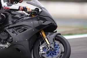 Michael van Der Mark, BMW Motorrad WorldSBK Team, Testing the BMWS1000RR with fairing wings