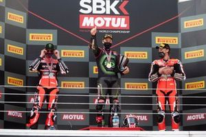 Scott Redding, Aruba.it Racing Ducati, Jonathan Rea, Kawasaki Racing Team, Chaz Davies, ARUBA.IT Racing Ducati