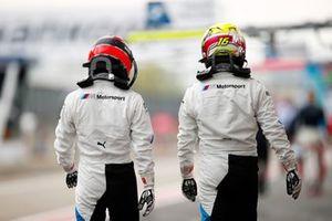Lucas Auer, BMW Team RMG, Timo Glock, BMW Team RMG