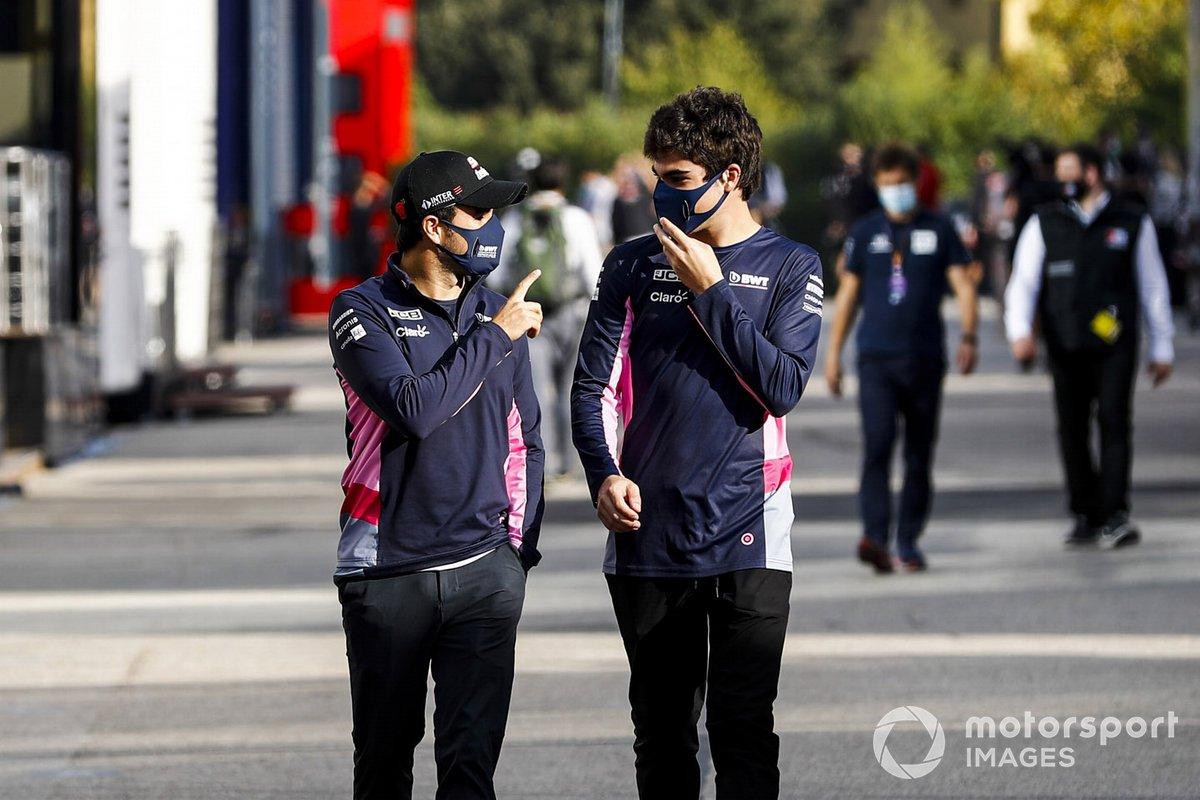 Серхио Перес и Лэнс Стролл, Racing Point