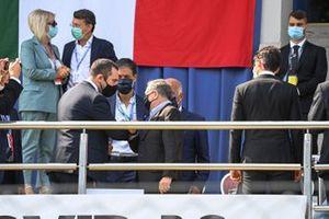 Jean Todt, Président, FIA, rencontre des membres de l'Automobile Club d' Italia