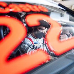 Caio Castro em treino da Porsche Cup