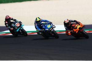 Pol Espargaro, Red Bull KTM Factory Racing Joan Mir, Team Suzuki MotoGP Fabio Quartararo, Petronas Yamaha SRT