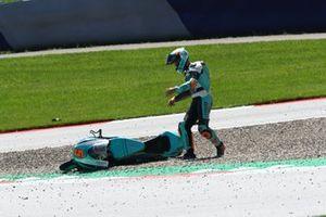 Chute de Jaume Masia, Leopard Racing