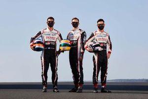 #7 Toyota Gazoo Racing: Mike Conway, Kamui Kobayashi, Jose Maria Lopez