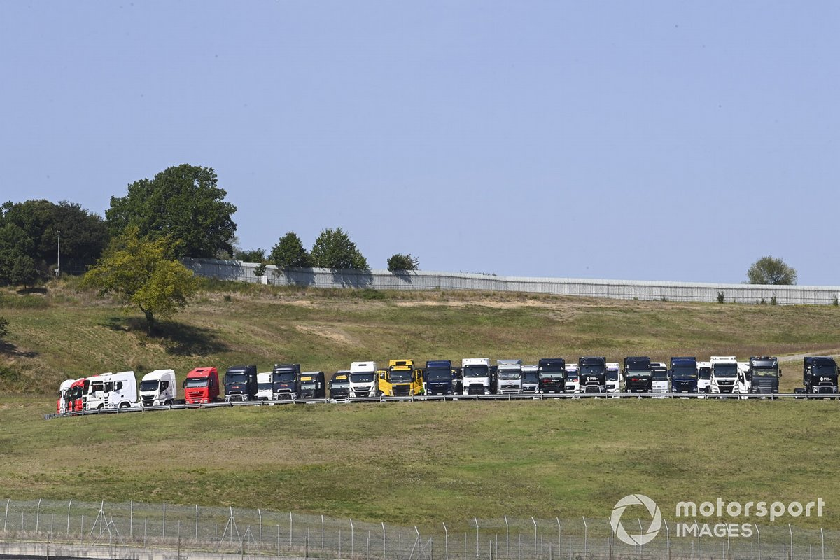 Camiones en Mugello