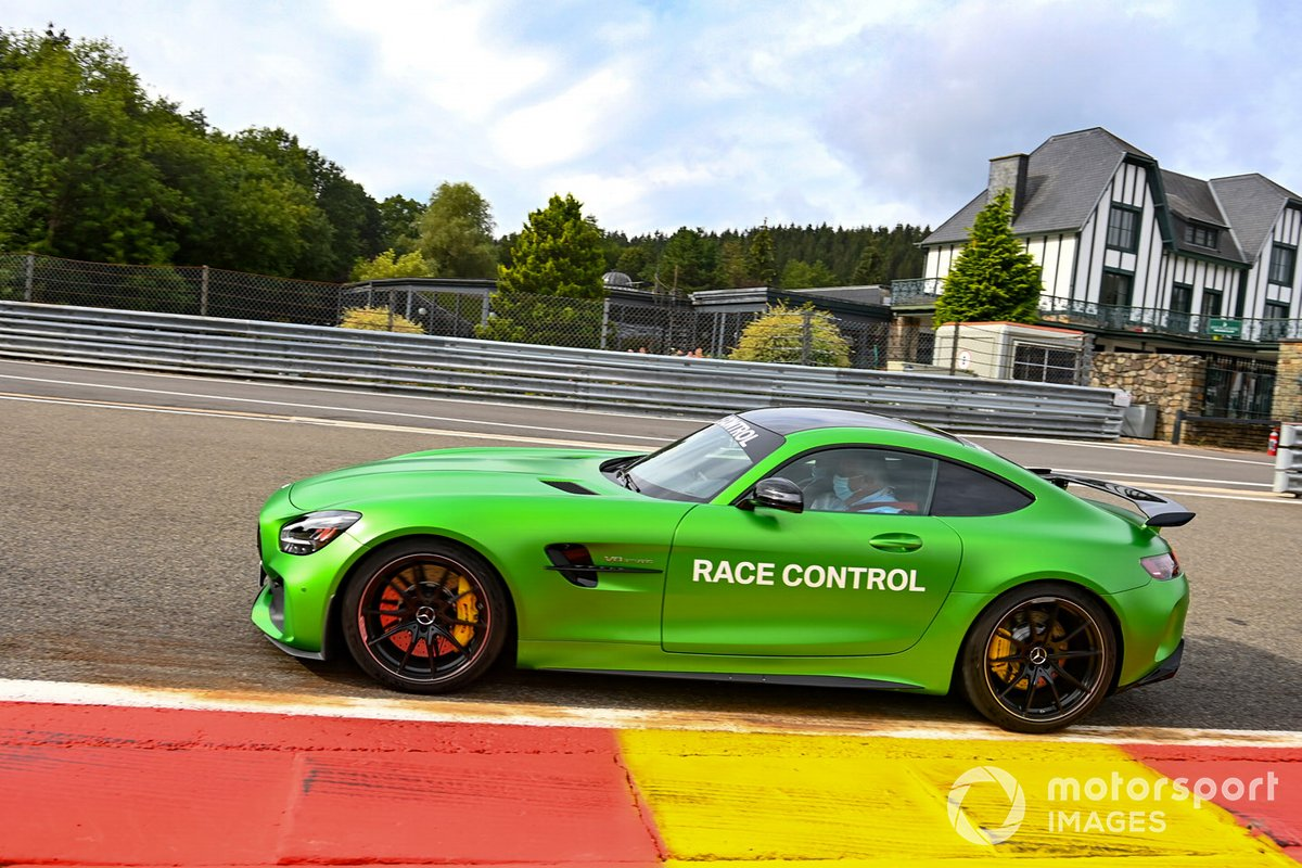 Mercedes AMG Race Control car
