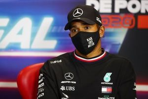 Lewis Hamilton, Mercedes-AMG F1 in conferenza stampa