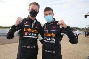 Matt Neal, Halfords Yuasa Racing Honda Civic Type R Dan Cammish, Halfords Yuasa Racing Honda Civic Type R