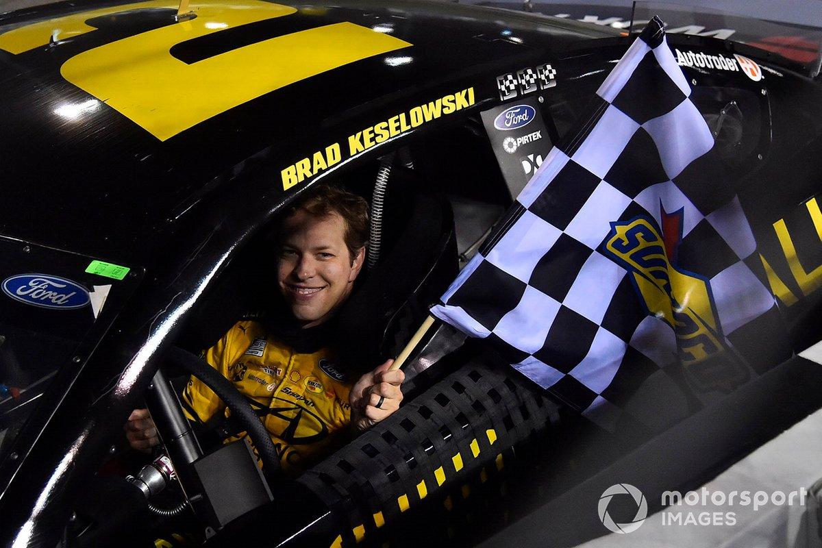 4. Brad Keselowski - 4 wins - 2nd in points