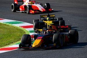 Jehan Daruvala, Carlin, Guanyu Zhou, UNI-Virtuosi, Mick Schumacher, Prema Racing