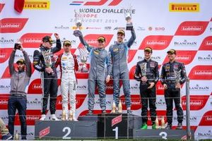 Podium Silver: Winner#62 R-Motorsport Aston Martin Vantage AMR GT3: Aaro Vainio, Hugo de Sadeleer, second place #89 Akka ASP Team Mercedes-AMG GT3: Nico Bastian, Thomas Neubauer, third place #10 Belgian Audi Club Team WRT Audi R8 LMS GT3: Rik Breukers, Oscar Tunjo