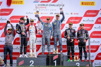 Podio Silver: i vincitori #62 R-Motorsport Aston Martin Vantage AMR GT3: Aaro Vainio, Hugo de Sadeleer, al secondo posto #89 Akka ASP Team Mercedes-AMG GT3: Nico Bastian, Thomas Neubauer, al terzo posto #10 Belgian Audi Club Team WRT Audi R8 LMS GT3: Rik Breukers, Oscar Tunjo