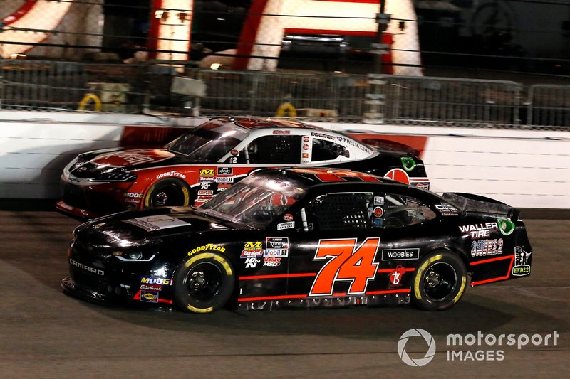 Tyler Matthews, Mike Harmon Racing, Chevrolet Camaro and Christopher Bell, Joe Gibbs Racing, Toyota Supra Rheem
