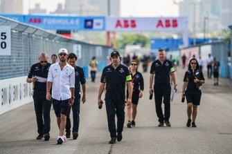 Ознакомление с трассой: Жан-Эрик Вернь, DS Techeetah Formula E Team