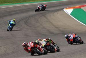 Danilo Petrucci, Ducati Team, Andrea Iannone, Aprilia Racing Team Gresini