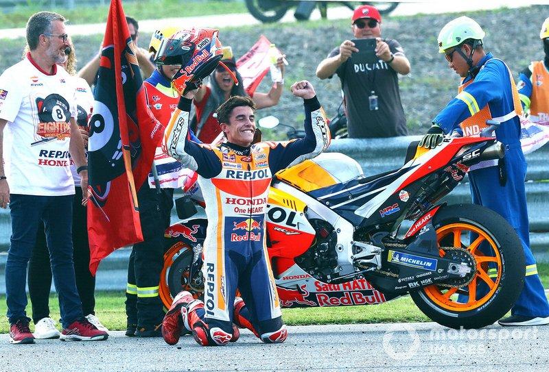 Marc Marquez se proclama campeón