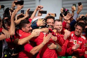 Winnaar Charles Leclerc, Ferrari