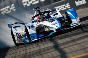 Antonio Felix da Costa, BMW I Andretti Motorsports, BMW iFE.18 locks up